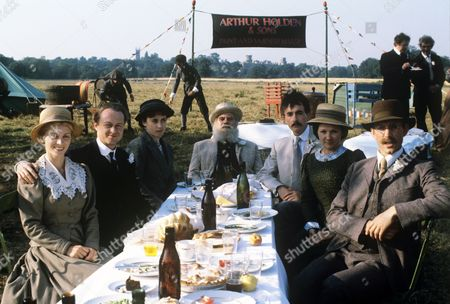 Editorial photo of 'The Country Diary of an Edwardian Lady' TV Programme. - 1984