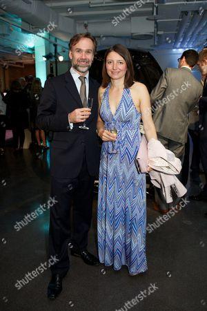 Marcus Wareing and Jane Wareing