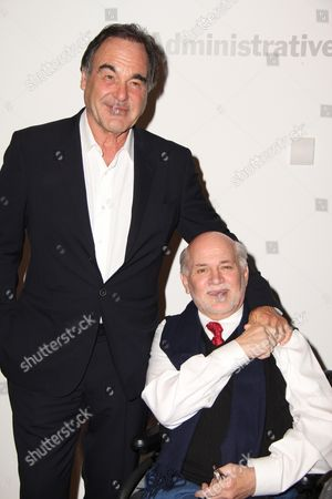 Stock Image of Oliver Stone and Ron Kovic