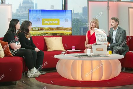 Editorial picture of 'Daybreak' TV Programme, London, Britain. - 06 Jul 2012