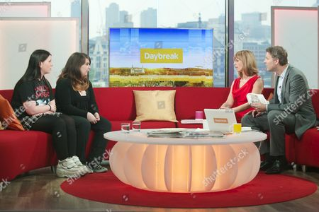 Stock Picture of Vermilion Von Kangur and Lindsay Parker with Kate Garraway and Dan Lobb