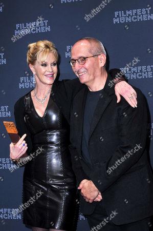 Melanie Griffith and Dominik Graf