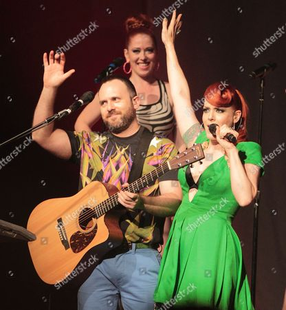 Editorial photo of The Scissor Sisters in concert at the Electric Factory, Philadelphia, America - 05 Jul 2012