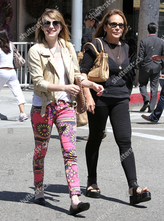 Emma Roberts and her mother Kelly Cunningham