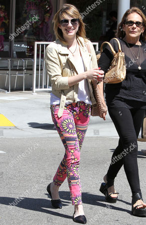 Editorial image of Emma Roberts out and about Beverly Hills, Los Angeles, America - 06 Jul 2012
