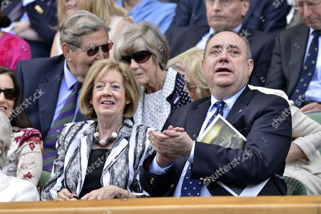 Stock Image of Moira Salmond and Alex Salmond