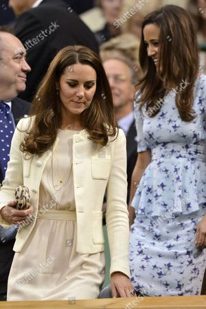 Catherine Duchess of Cambridge and Pippa Middleton