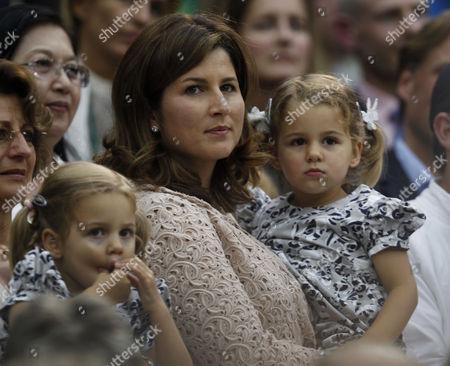 Stock Photo of Mirka Federer