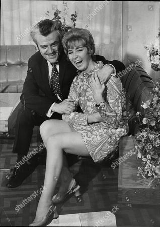 Sheila Kennedy Television Announcer Pictured At Her Engagement To Tom Singleton