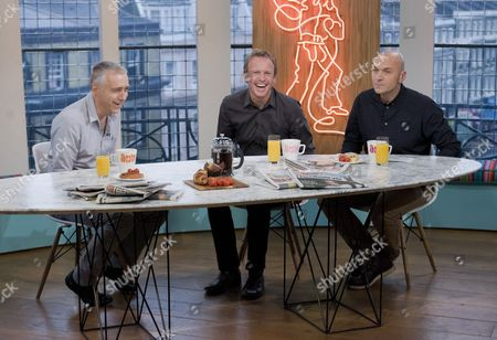 Marcus Chown, Tim Lovejoy and Simon Rimmer.