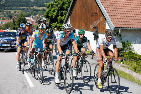 Stock Photo of Gautier Cyril (Fra) leading
