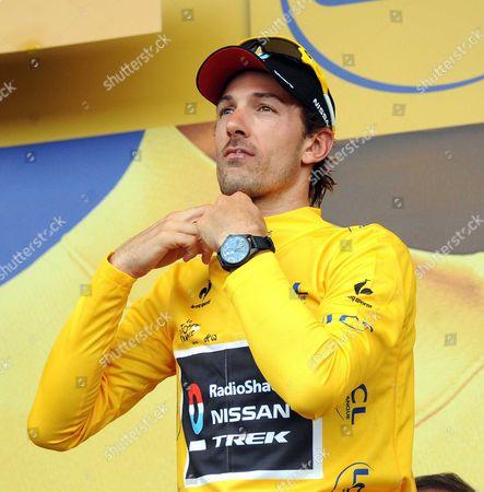 Fabien Cancellara, Yellow jersey