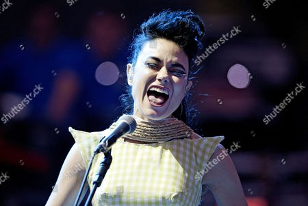 Editorial image of Kristeen Young in concert at the Auditorium, Rome, Italy - 07 Jul 2012