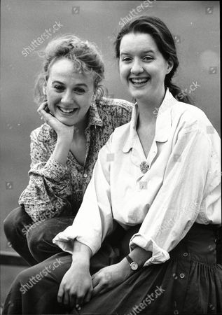 Actresses Niamh (l) And Catherine Cusack