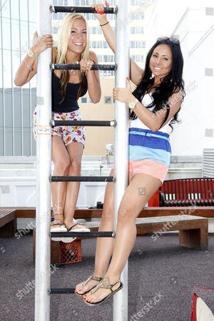 Stock Photo of Jackie Bianchi and Olivia Blois Sharpe