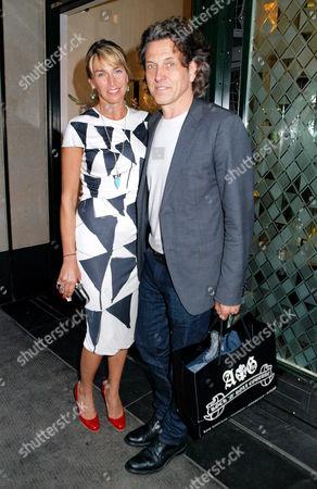 Anastasia Webster and Stephen Webster