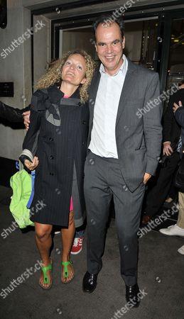 Stephanie Theobald and Jake Arnott