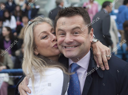 Former Olympic gymnast Suzanne Dando and TV presenter Chris Hollins