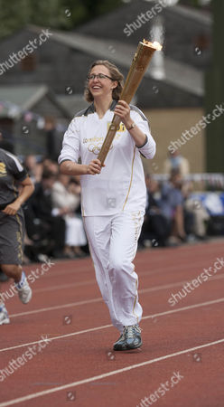 Editorial image of Olympic Torch Relay, Oxford, Britain - 10 Jul 2012