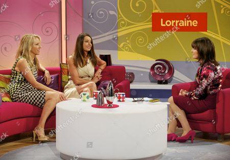 Bananarama - Sarah Dallin and Keren Woodward with Lorraine Kelly