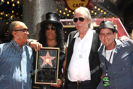 Editorial picture of Slash honored with a star on the Hollywood Walk of Fame, Los Angeles, America - 10 Jul 2012