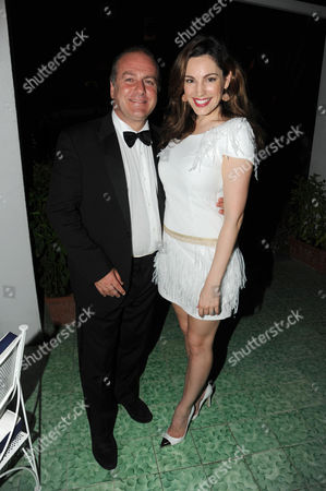 Pascal Vicedomini and Kelly Brook