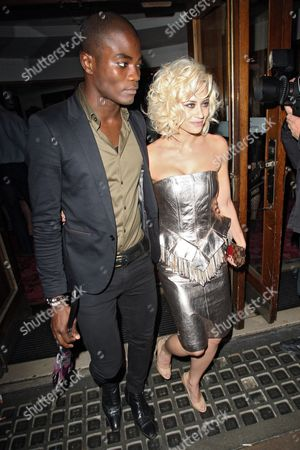 Anthony BB Kaye and Kimberly Wyatt