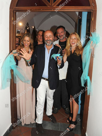 Nina Zilli, Richard Young, Fabrizio Ferri and Maria Bello