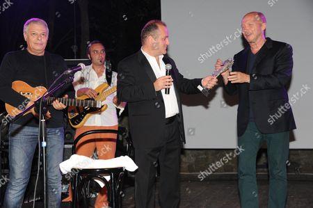 Enzo Gragnaniello, Pascal Vicedomini and Paul Haggis