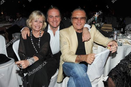 Pascal Vicedomini and Tony Renis