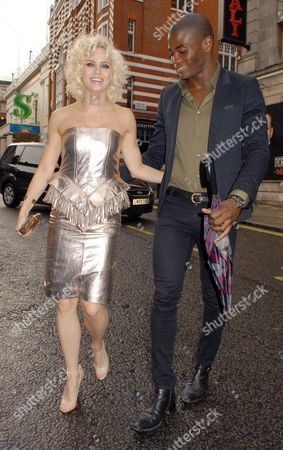 Kimberly Wyatt and Anthony BB Kaye