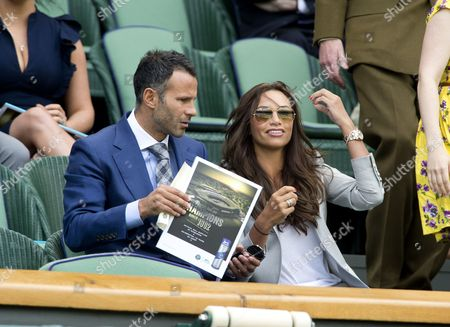 Ryan Giggs with his wife Stacey Giggs