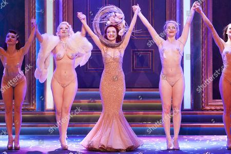 Joanna Woodward (Performer), Miss Polly Rae   (Performer) and Stephanie Jayne Thompson (Performer) during the curtain call