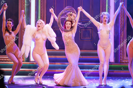 Jennifer White (Performer), Joanna Woodward (Performer), Miss Polly Rae  (Performer) and Stephanie Jayne Thompson (Performer) during the curtain call