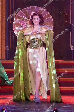 Miss Polly Rae (Performer) During the Curtain Call