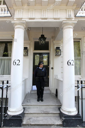 Editorial picture of Home of Hans Kristian Rausing and wife Eva Rausing, 62 Cadogan Place, London, Britain - 11 Jul 2012