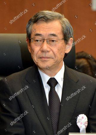 Editorial photo of Fukushima Daiichi nuclear power plant accident probe panel, Tokyo, Japan - 08 Jun 2012