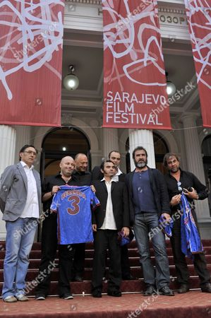 Eric Cantona and Jean Marie Cantona