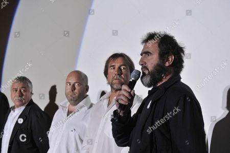 Stock Photo of Eric Cantona and Jean Marie Cantona