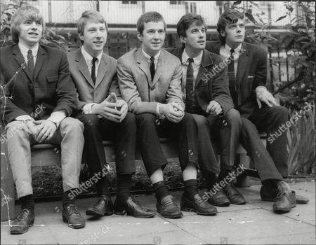 The Yardbirds - Keith Relf, Chris Dreja, Eric Clapton, Jim McCarty and Paul Samwell-Smith