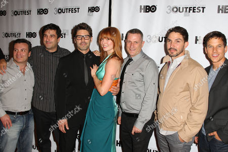 Stock Photo of I do - Richard Strauss, Stephen Israel, David Ross, Alicia Witt, Glen Galor and Maurice Compte