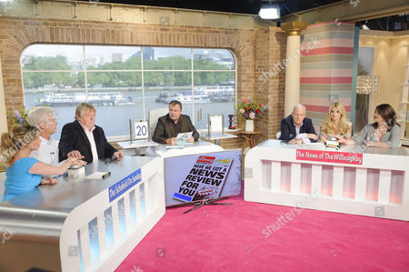 Editorial photo of 'This Morning' TV Programme, London, Britain - 13 Jul 2012