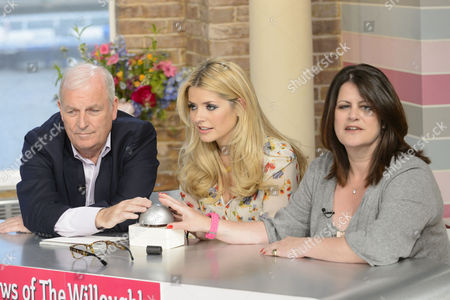 Stock Image of Kelvin McKenzie, Holly Willoughby and Petrie Hosken