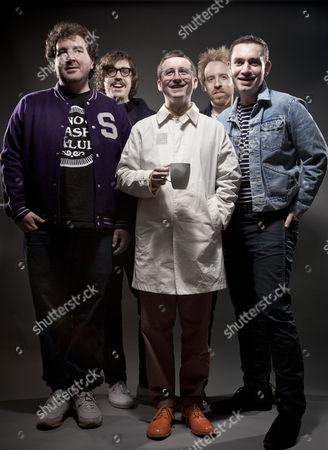 Hot Chip - Alexis Taylor, Joe Goddard, Owen Clarke, Felix Martin and Al Doyle