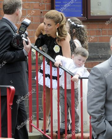 Stock Picture of Coleen Rooney, Kai Rooney