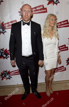 Editorial image of Life Music Foundation gala dinner, Newport, Wales, Britain - 14 Jul 2012