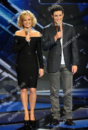 Amanda Holden and Niall Sheehy