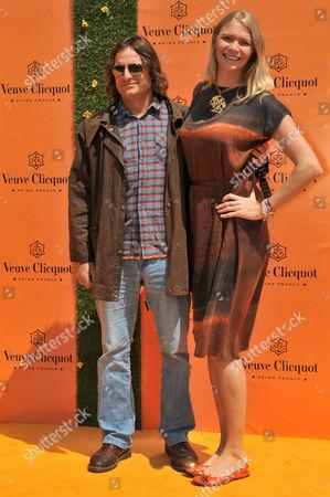 Andrea Vianini and Jodie Kidd