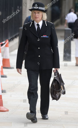 Chief Constable Sara Thornton Of Thames Valley Police Arrives At The Parliamentary Committee Hearing Today Picture Jeremy Selwyn 12/07/2011