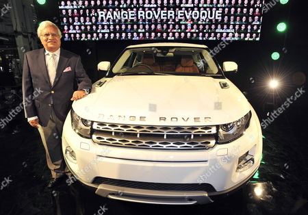 Editorial photo of Tata Motors V.p. Ravi Kant At The Presentation Of Land Rover's First Production Model Evoque At The Companys Merseyside Factory At Halewood.